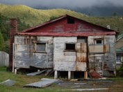 Derelict house in Queenstown